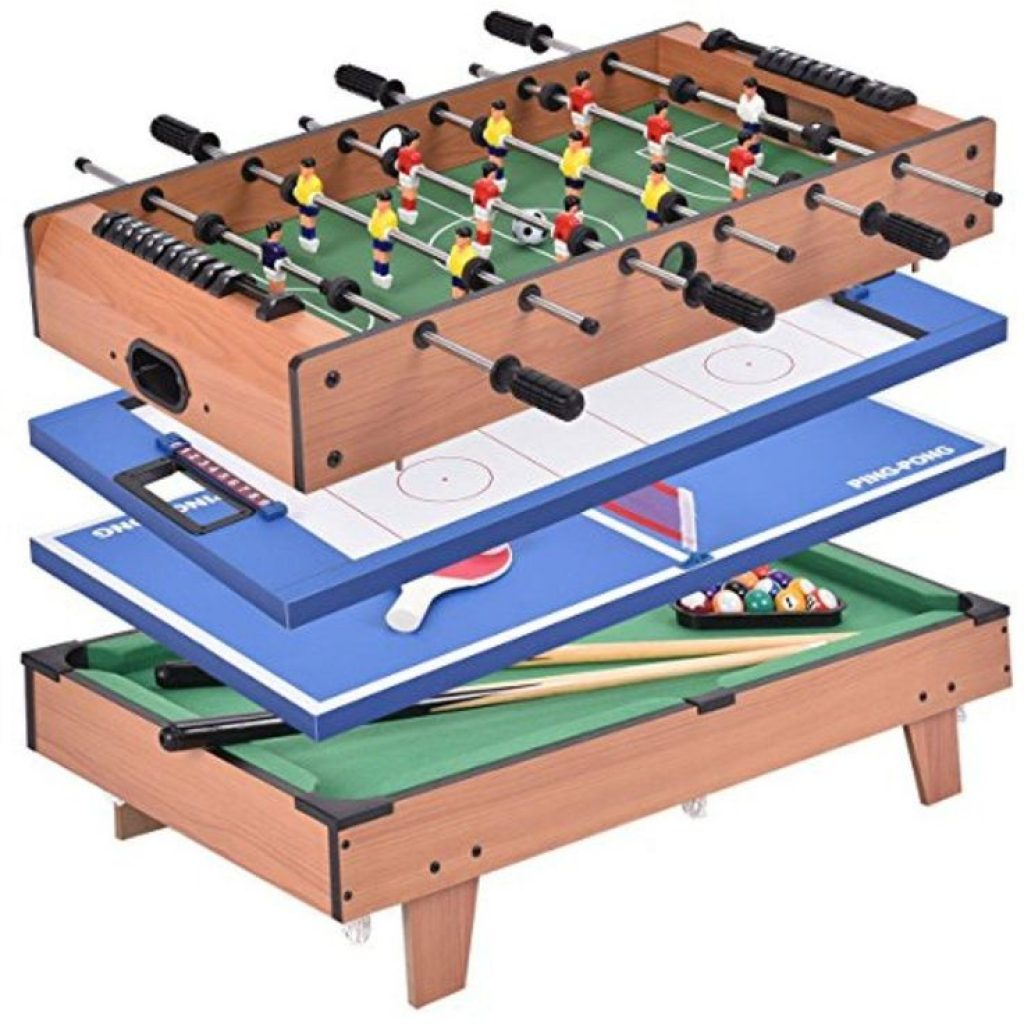 This Means Distinct Games Are Conveniently Incorporated Into One Multi Game  Table Including Air Hockey.