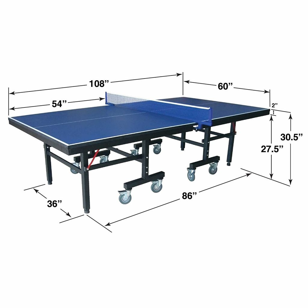The Quality Of Play Is Determined By The Quality Of The Playing Surface  Which Is Indicated By The Thickness Of The Tabletop. For Indoor Ping Pong  Tables ...